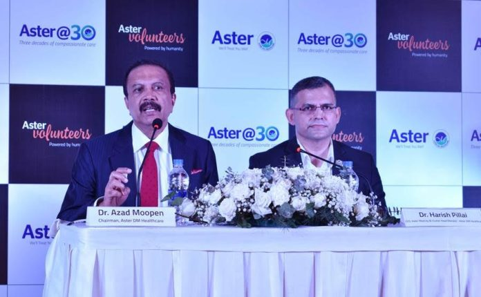 Aster announces more healthcare projects in Kerala