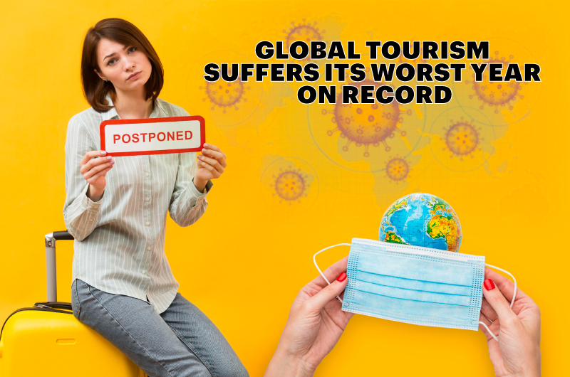 Global tourism suffers its worst year on record