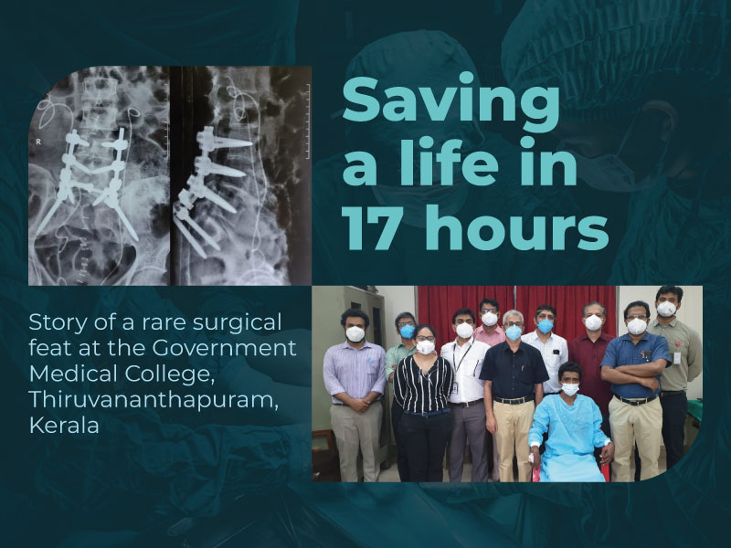 Saving a life in 17 hours